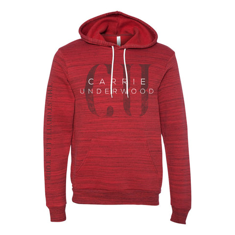 Red Fade Hoodie
