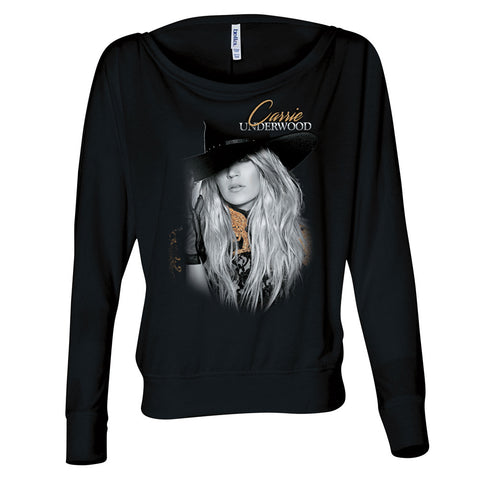 Ladies Black Long Sleeve