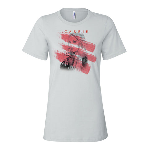 Ladies White Itinerary T-Shirt