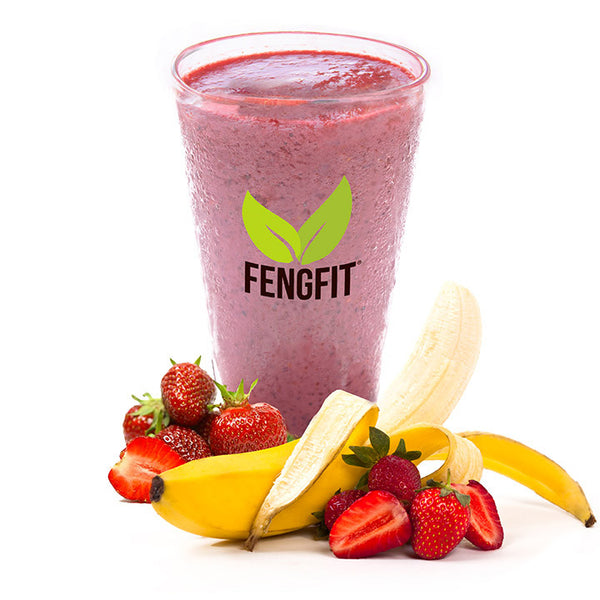 Strawberry-Banana Protein Refresher