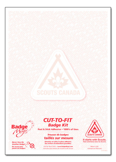 Cut-To-Fit Badge Kit