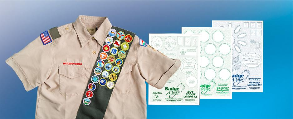 Badge Magic | Badge Magic | Attach Scout Badges and Patches and More