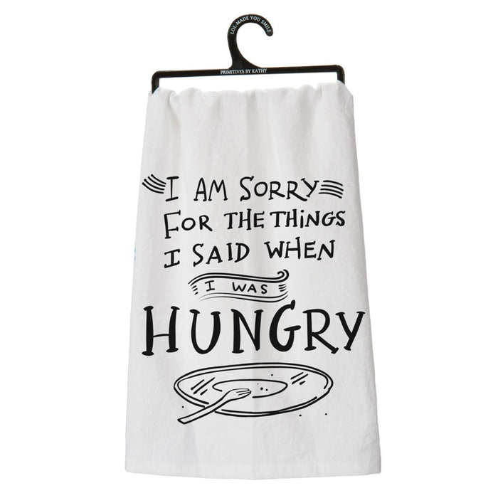 I Am Sorry..Hungry Towel