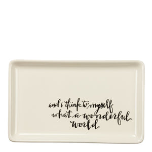 Wonderful World Tray