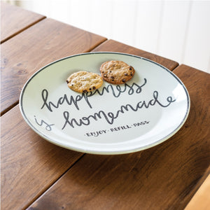 Happiness Is Homemade Giving Plate