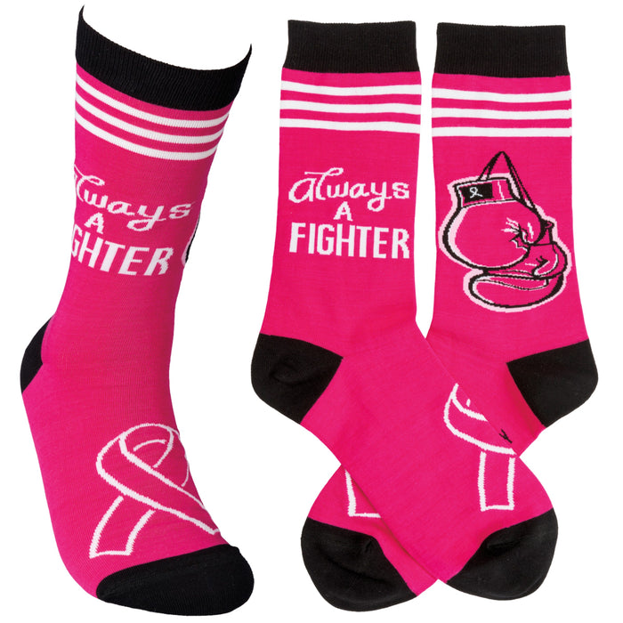 Always A Fighter Socks