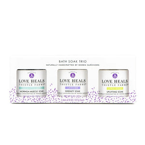 Bath Soak Trio Gift Set
