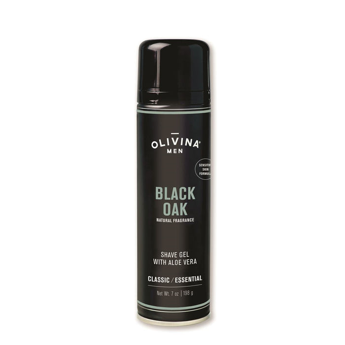 Black Oak Foaming Shave Gel
