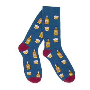 Bourbon On The Rocks Socks