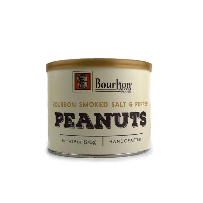 Bourbon Barrel Salt & Pepper Peanuts
