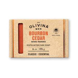 Bourbon Cedar Exfoliating Soap