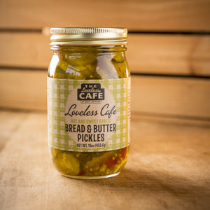 Bread and Butter Pickles - 16oz