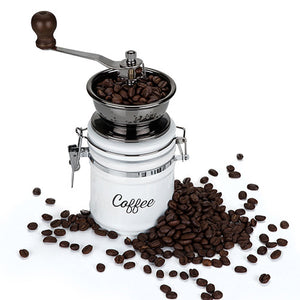 Country Cottage Ceramic Coffee Grinder