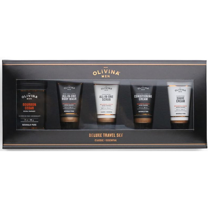 Bourbon Cedar Deluxe Travel Kit