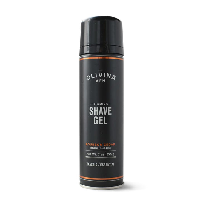Bourbon Cedar Foaming Shave Gel