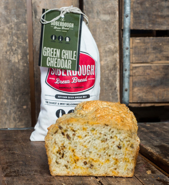 Green Chile Cheddar Soberdough Bread Mix