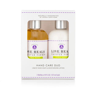 Hand Care Duo Kit - Citrus Wood