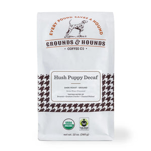 Hush Puppy Decaf Blend-Dark Roast