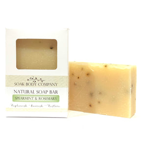 Spearmint & Rosemary Natural Bar Soap