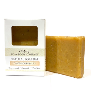 Cantaloupe & Lily Natural Bar Soap