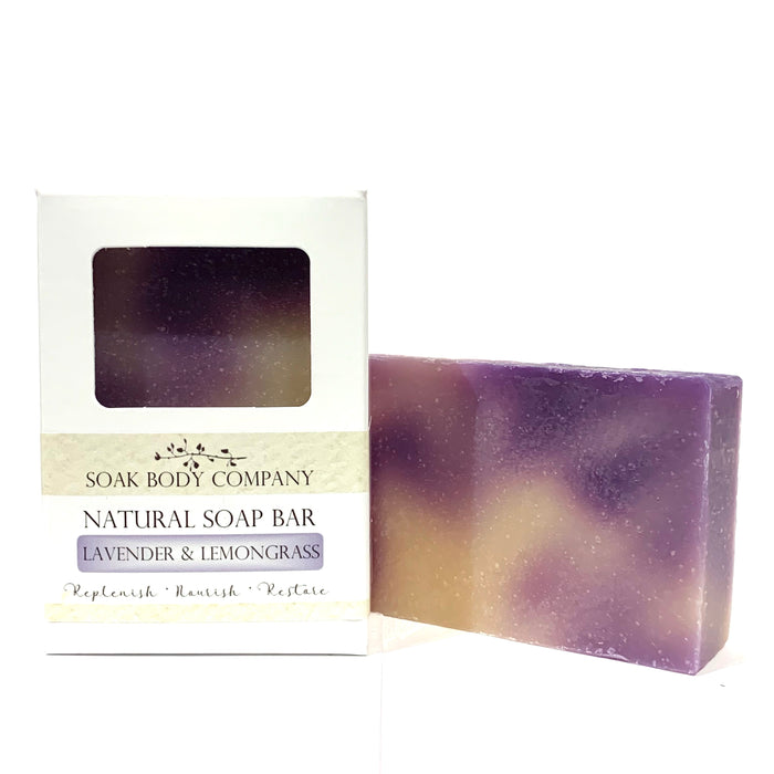Lavender & Lemongrass Natural Bar Soap