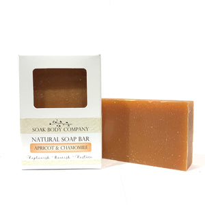 Apricot & Chamomile Natural Bar Soap