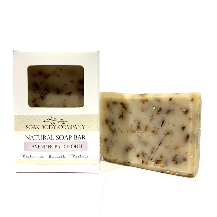 Lavender Patchouli Natural Bar Soap