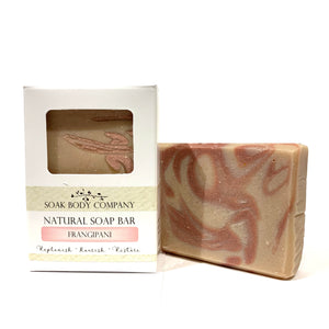 Frangipani Natural Bar Soap