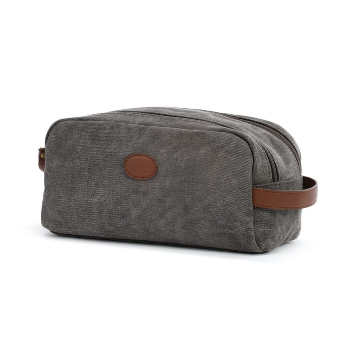 Waxed Canvas Travel Accessory Kit