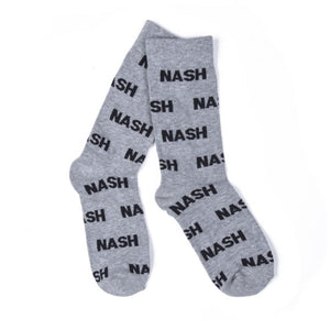 """Nash"" Grey Socks"