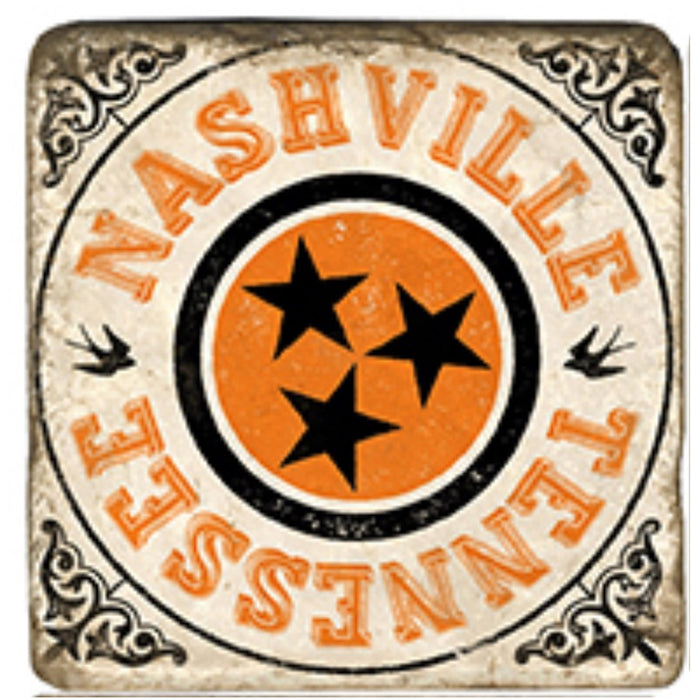 Nashville Black Coaster