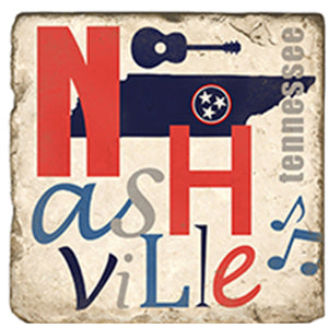 Nashville Collagae Coaster