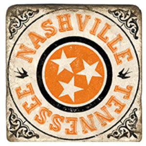 Nashville Orange Coaster
