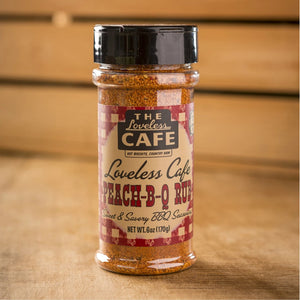 Peach-B-Q Rub Seasoning - 6oz