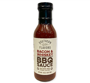 Bacon & Whiskey BBQ Sauce-15oz