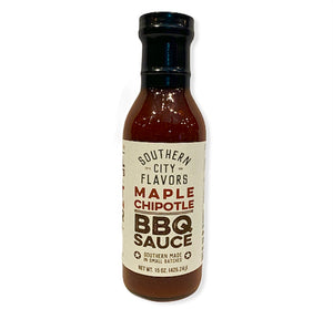 Maple Chipotle BBQ Sauce-15oz