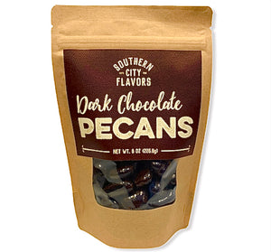 Dark Chocolate Pecans-8oz