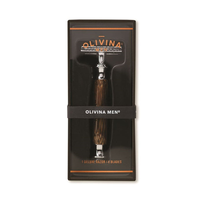 Deluxe Safety Razor - Bamboo