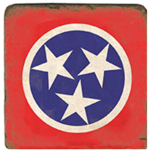Tennessee Flag Coasters