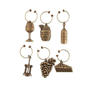 Twine Grapevine Vineyard Wine Charms