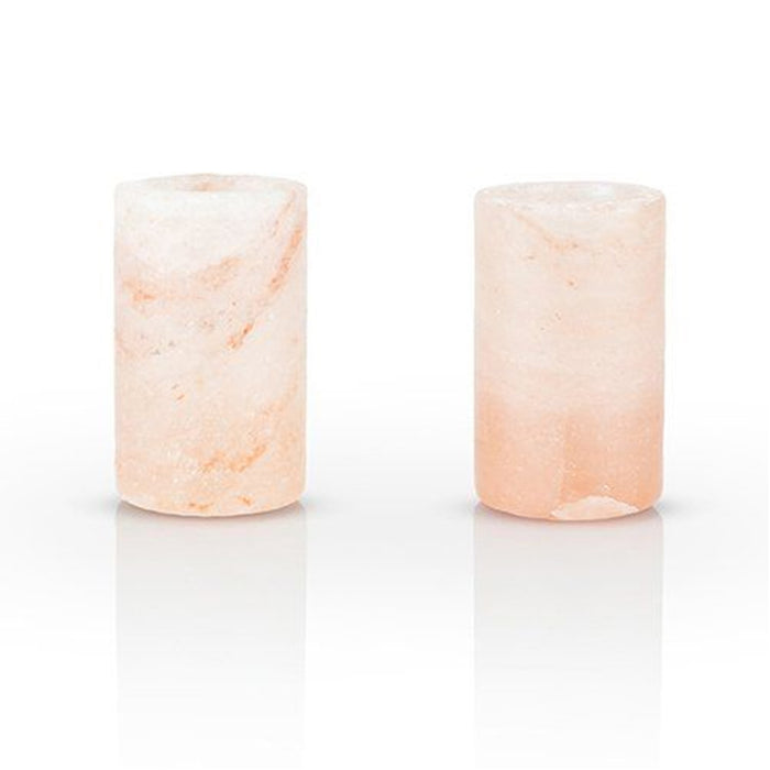 Viski Himalayan Salt Shot Glass Set 2