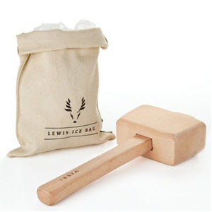Viski Lewis Ice Bag & Mallet