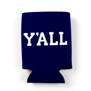 Y'All Koozie Navy