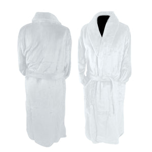 Luxury Bath Robe-White