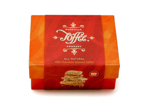 Milk Chocolate Almond Toffee - 1/2 lb Box