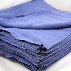 "GHP 25-Pcs Premium Blue 14""x26"" 100% Heavy Duty Cleaning Huck Towels"