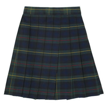 St Peters Plaid Skirt : Size 3 -18