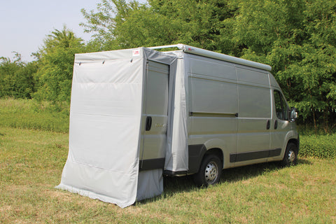 Promaster Ducato rear door cover