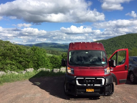 Promaster with Catskill Moutains in background
