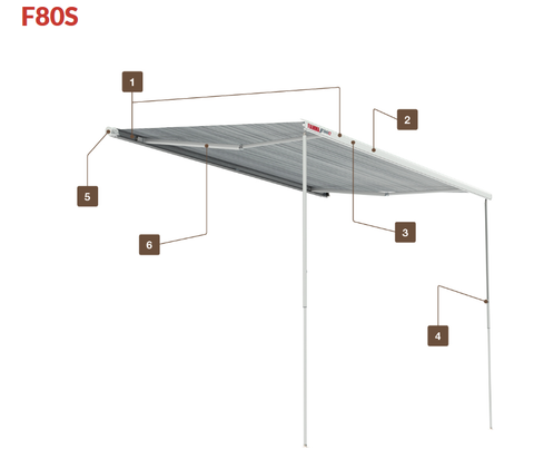 Promaster Van New F80S Awnings